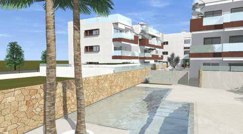 The new construction in Ibiza of Residencial Costa are designed to enjoy the sun, maximun quality rest and leisure., Obra Nueva en Ibiza - Residencial Costa Ibiza